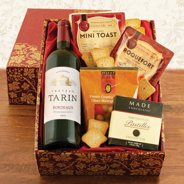 French Wine and Treat Box