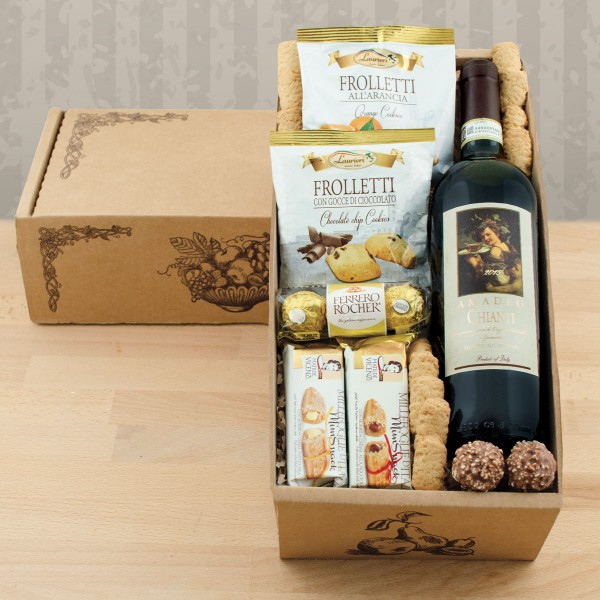 Italian Wine Gift Box