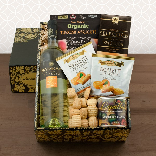 Sauv Blanc Wine Gift Set-Kosher