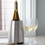 Vacu Vin Wine Chiller Stainless Steel