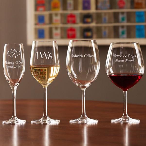 Personalized Stemware Chardonnay