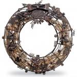 Cork Cage Wreath