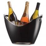 Vino Gondola Wine Cooler Black