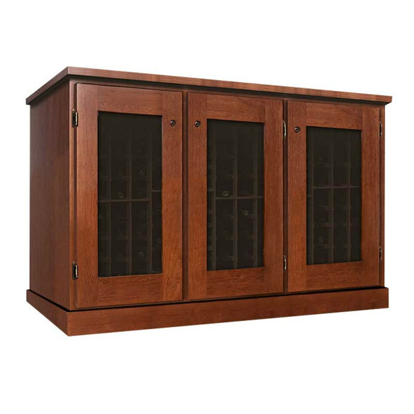 Vinotheque Basic Credenza 3 Door Double Deep