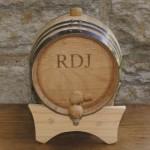 Mini-Oak Whiskey Barrel