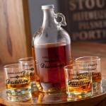 Personalized Distillery Growler Set
