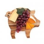 Rustic Farmhouse: Pig Cheese Board